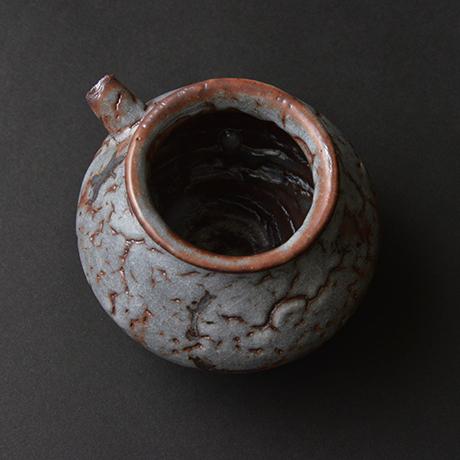 「No.14 鼠志野注壷 / Lipped vessel, Nezumi-shino」の写真 その3