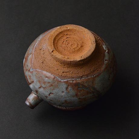「No.14 鼠志野注壷 / Lipped vessel, Nezumi-shino」の写真 その4
