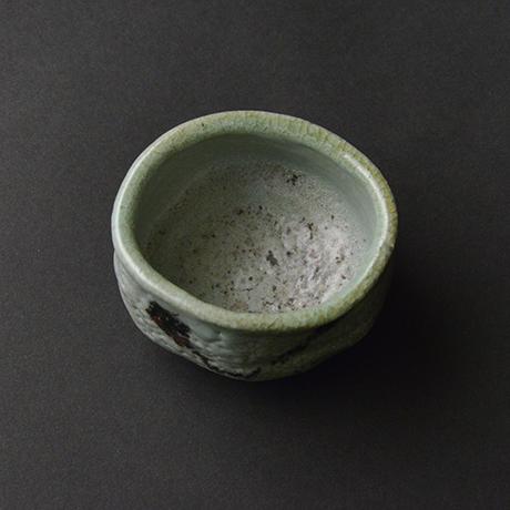 「No.21 青瓷野ぐい吞 / Sake cup, Ao-shino」の写真 その3