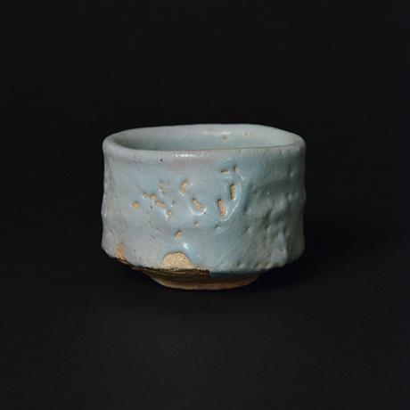 「No.22 青瓷野ぐい吞 / Sake cup, Ao-shino」の写真 その2