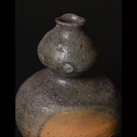 「No.44 備前窯変瓢徳利 / Tokkuri, Bizen yohen, Gourd shape」の写真 その3