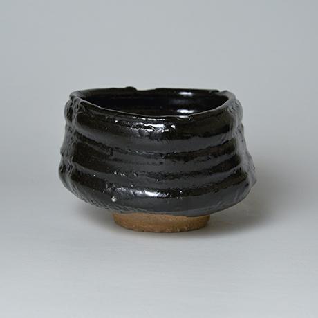 「No.5 織部黒茶盌 / Tea bowl, Oribe-kuro」の写真 その4