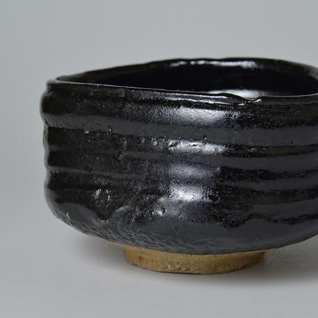「No.5 織部黒茶盌 / Tea bowl, Oribe-kuro」の写真 その7