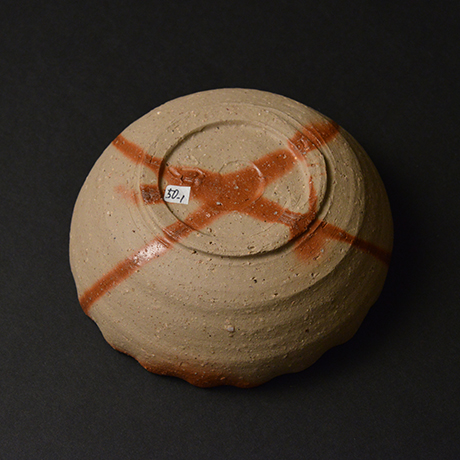 「No.50 備前火襷輪花鉢 / Bowl, Bizen hidasuki, Petal shape」の写真 その4