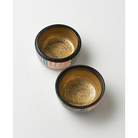 「No.43 色絵銀彩香合 / Incense container, Overglaze enamels and silver」の写真 その4