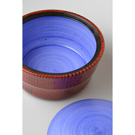 「No.45 色絵洋彩水指 / Water jar (Mizusashi), Overglaze enamels」の写真 その4