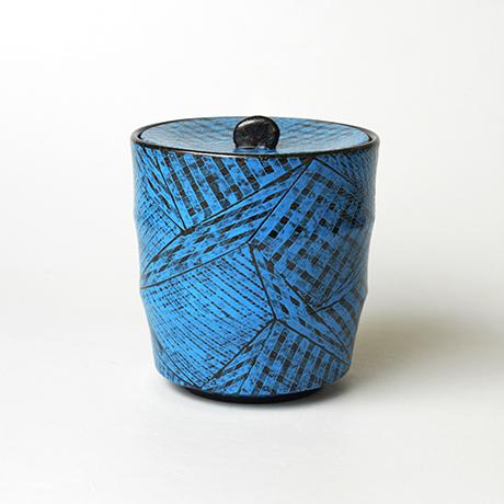 「No.5(図8) 色絵洋彩蓋物 / Covered vessel, Overglaze enamels」の写真 その1