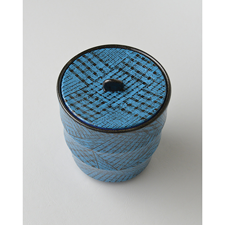 「No.5(図8) 色絵洋彩蓋物 / Covered vessel, Overglaze enamels」の写真 その3