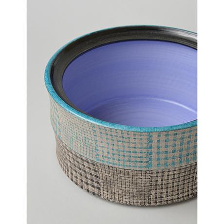 「No.51 色絵銀彩水指 / Water jar (Mizusashi), Overglaze enamels and silver」の写真 その6