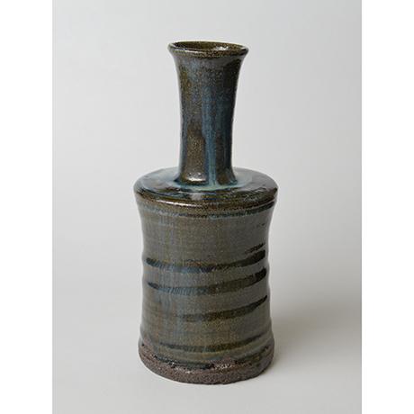 「No.67 石斑砧花入 / Flower vase, Ishi-madara (Stone ash glaze)」の写真 その2