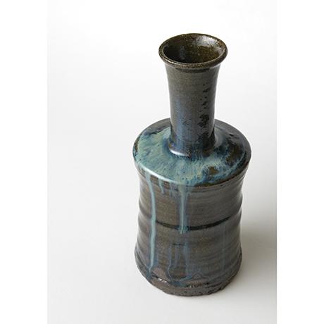 「No.67 石斑砧花入 / Flower vase, Ishi-madara (Stone ash glaze)」の写真 その4