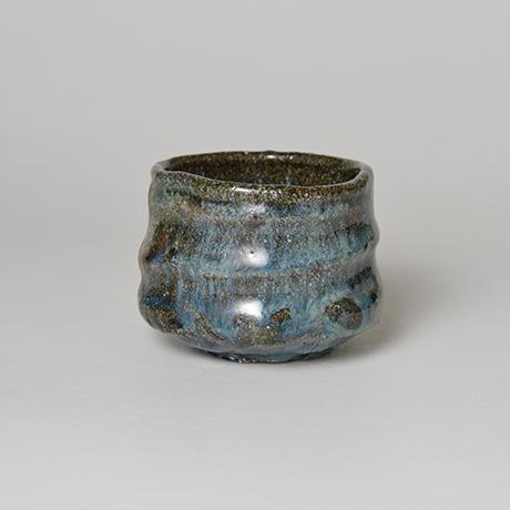 「No.72 石斑ぐい呑 / Sake cup, Ishi-madara (Stone ash glaze)」の写真 その1