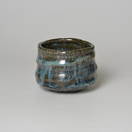 「No.72 石斑ぐい呑 / Sake cup, Ishi-madara (Stone ash glaze)」の写真 その2