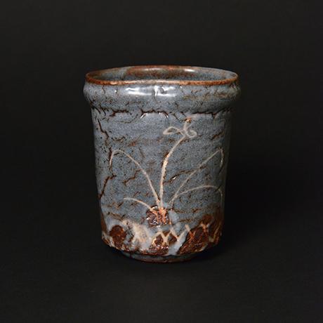 「No.91 鼠志野湯呑 / Tea cup, Nezumi-shino」の写真 その2